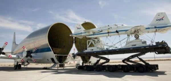 NASA'nın 26 tonluk 'balina'sı