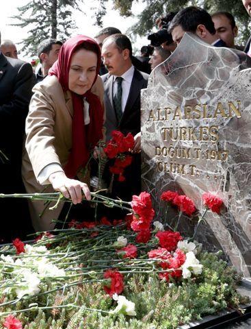 Alparslan Türkeş ölümünün 17'nci yılında anıldı