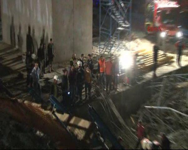 3. Köprü inşaatında göçük, 3 işçi öldü !