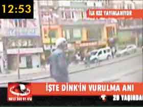İşte Hrant Dinkin ölmeden önceki son 10 saniyesi