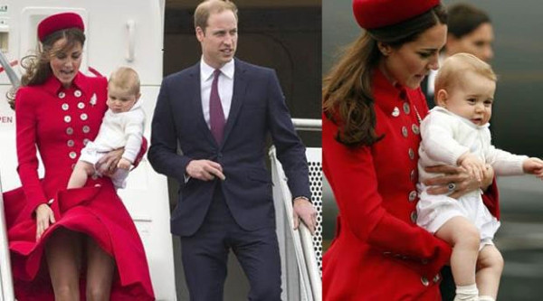Prenses Kate yine rüzgara yenik düştü