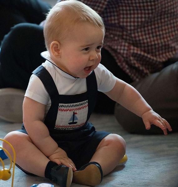 Küçük prens Yeni Zelanda'da