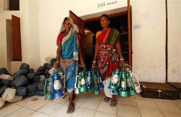 Hindistan'daki seçimlerden renkli kareler
