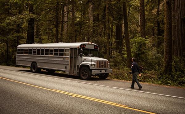 Bu gördüğünüz bir otobüs!