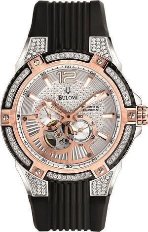 Bulova'dan göz kamaştıran pırlantalı saatler