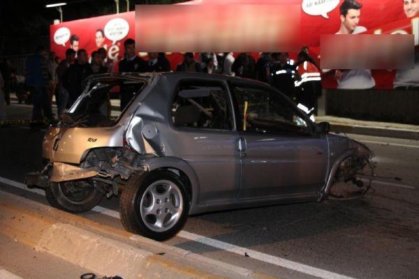 Feci kaza!.. 2 ölü, 2 yaralı!