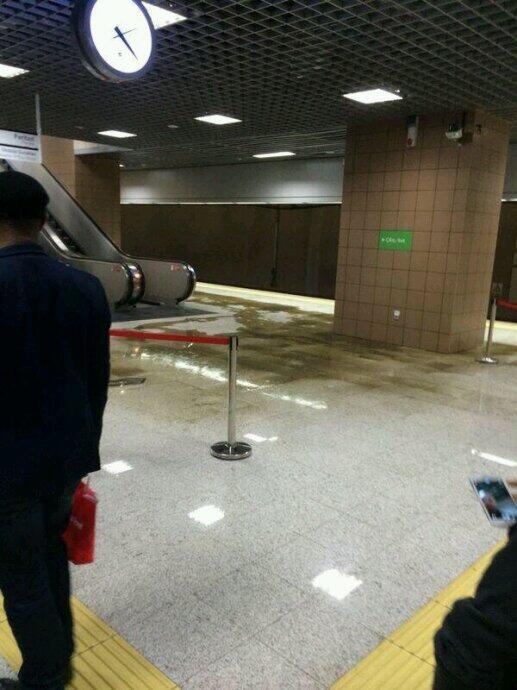 Marmaray istasyonunda 'lağım patladı' iddiası