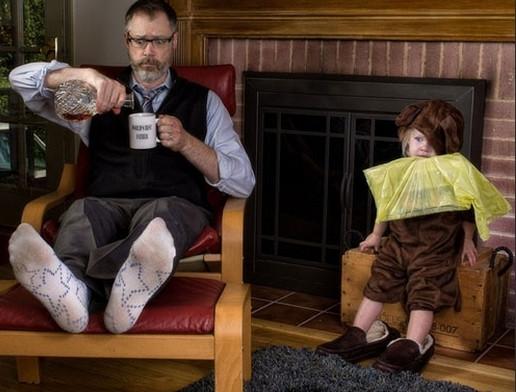 Dünyanın en çılgın babası ve kızı