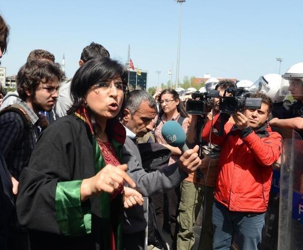 'Gezi parkı olayları davası' sonrası arbede