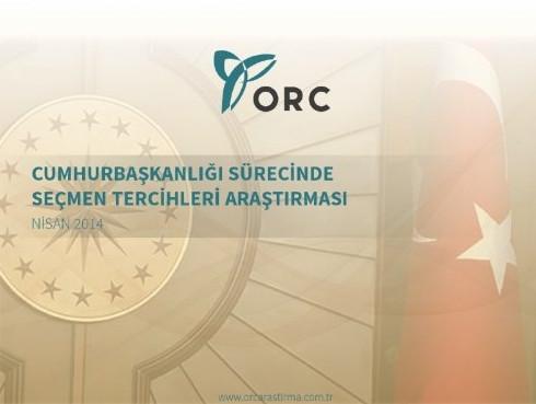 ORC'nin cumhurbaşkanlığı sürecinde seçmen araştırması