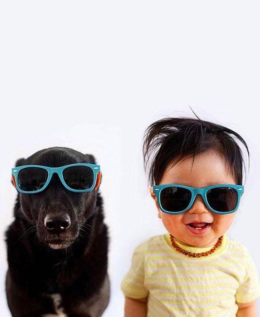 Jasper ve köpeği Zoey'in aşırı sevimli portreleri