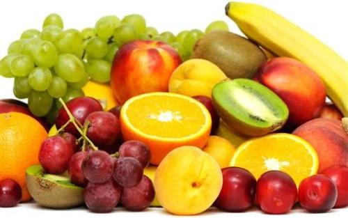 Kırmızı, mor ve turuncu renkli beslenin