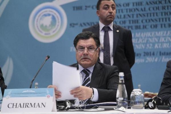 Anayasa Mahkemesi Başkanı Haşim Kılıç İstanbul'da