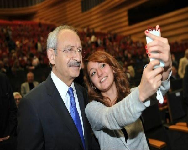 Kılıçdaroğlu'yla selfie