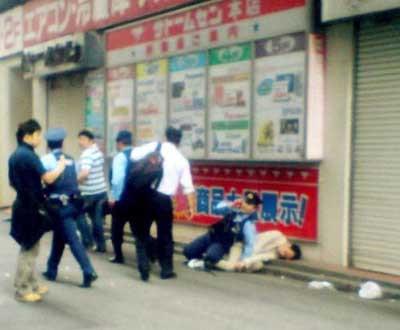 Canı sıkıldı, 19 kişiyi bıçakladı 7 kişiyi öldürdü!