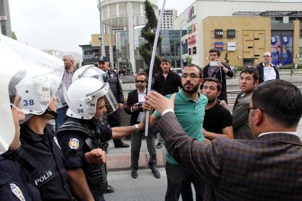 Kayseri'de ortalık karıştı