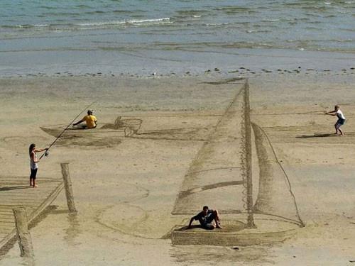3 Boyutlu kumsal sanatının en baş döndürücü örnekleri