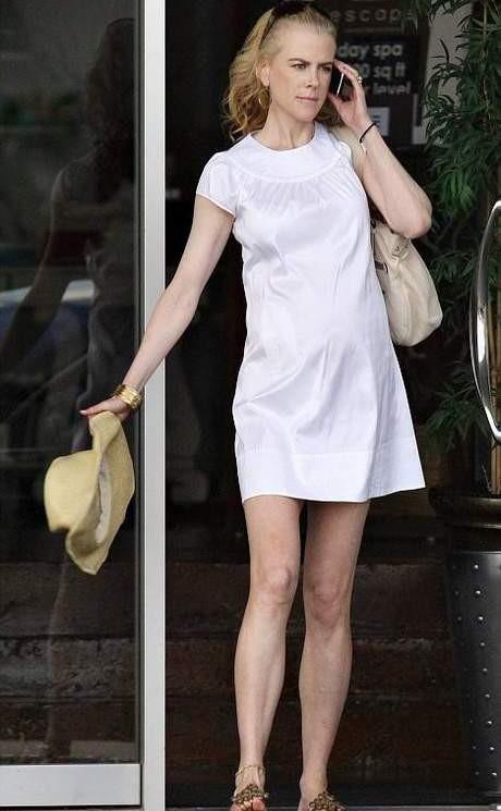 Nicole Kidman dudak dudağa