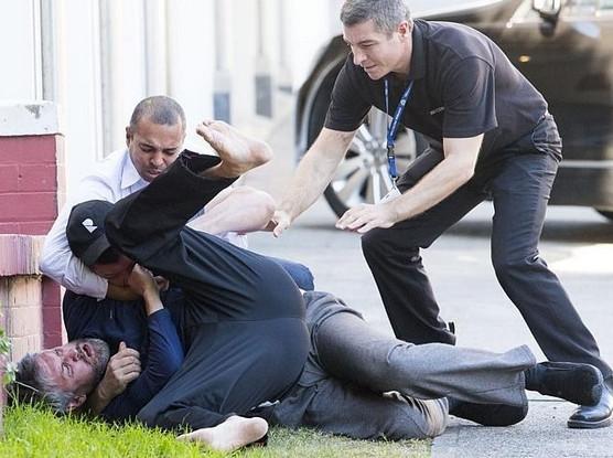 Miranda Kerr için yumruk yumruğa kavga