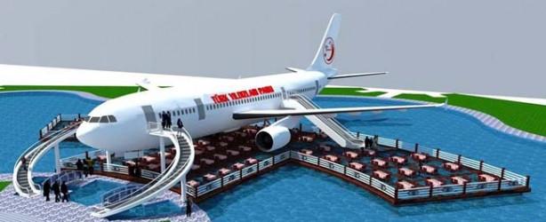 AIRBUS A300 kafeterya olacak