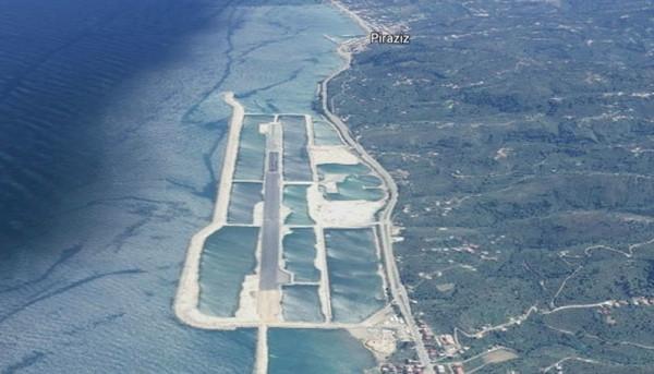 Ordu-Giresun Havaalanı böyle görüntülendi