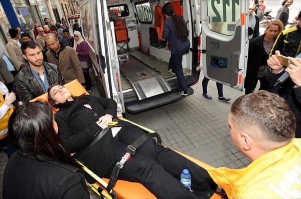 İstiklal Caddesi'nin bozuk zemini hastanelik etti