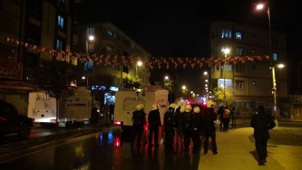 İstanbul'da gergin gece