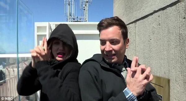 Cameron Diaz ve Jimmy Fallon'dan unutulmaz şaka