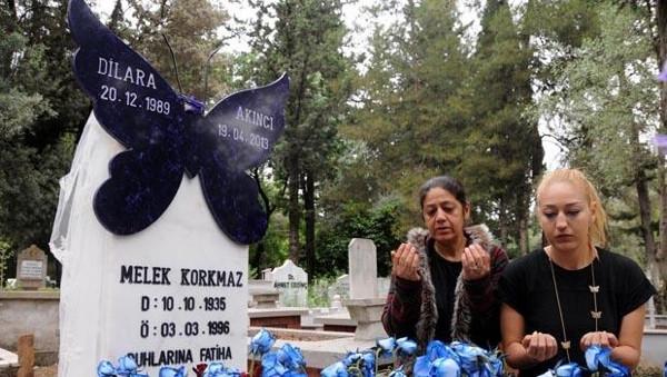 Dilara'ya kelebek mezar taşı