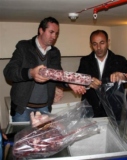 İstanbul'da kaçak et operasyonu
