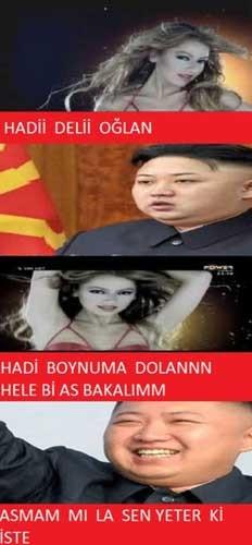 Kim Jong-Un efsane caps'leri