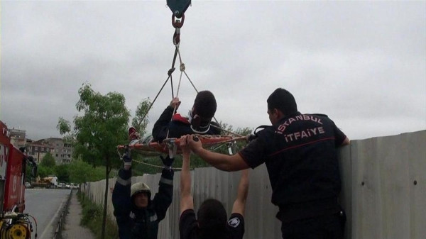 AVM inşaatında uyuşturucu madde operasyonu