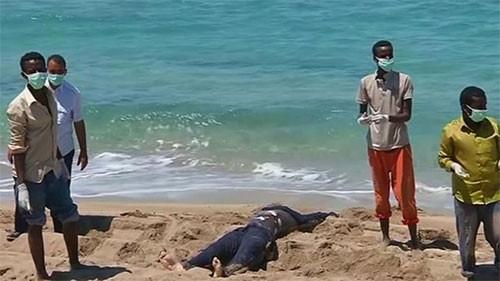 40 ceset iki gündür sahilde