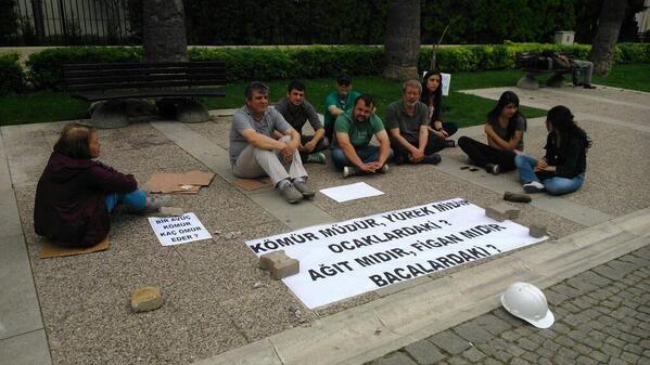 Acı olay protesto edildi
