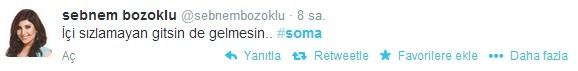 Ünlü isimlerden 'Soma' tweetleri
