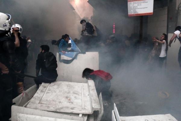 İstanbul'da polis müdahalesi