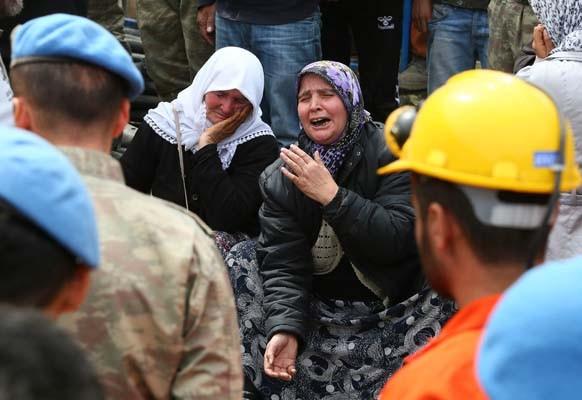 Türkiye'nin kalbi Soma'da durdu
