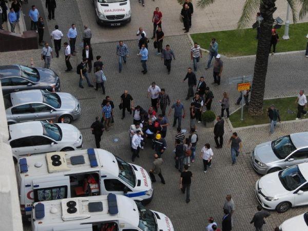 Soma eylemine müdahale! Disk Genel Başkanı hastaneye kaldırıldı