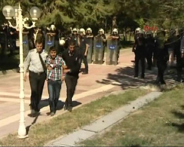 BDP'lilerle Ülkücüler birbirine girdi