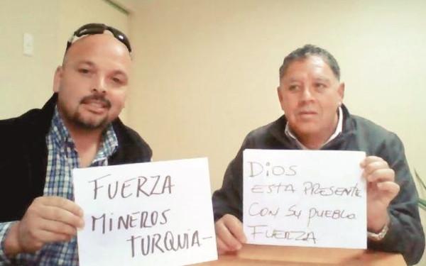 Şilili madenciler Türkiye'deki kader arkadaşlarına mesaj gönderdi