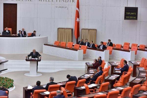 Meclis'te canlı yayın tartışması