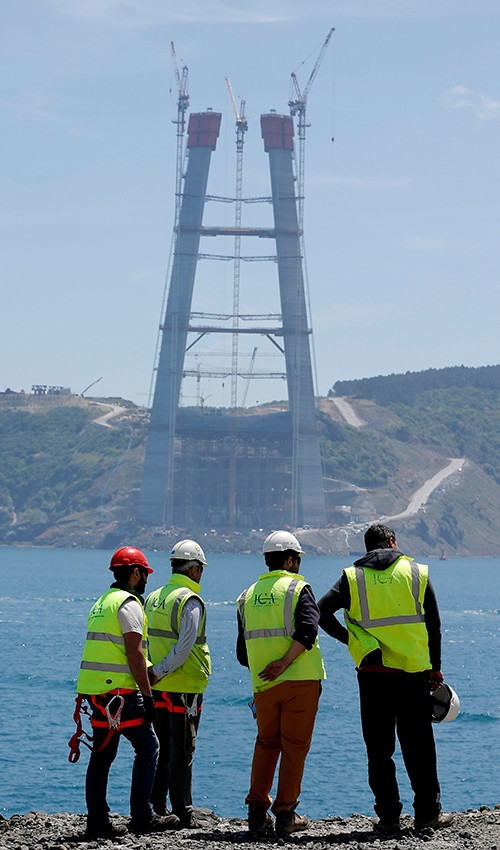 3. köprüde son 120 metre