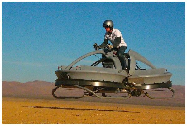 Star Wars gerçek oluyor: 85 bin $'lık 'hoover bike'