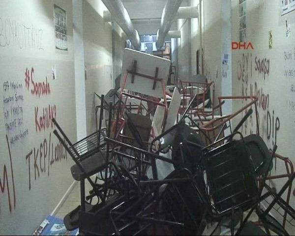 Ege Üniversitesi'nde polis müdahalesi: 38 gözaltı