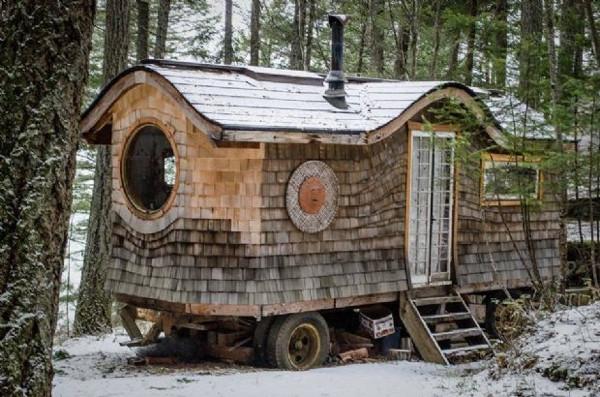 Görüp görebileceğiniz en küçük ev!