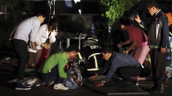 Bakımevinde yangın: 21 ölü