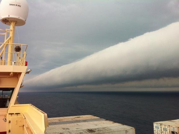 En tuhaf görünümlü bulutlar