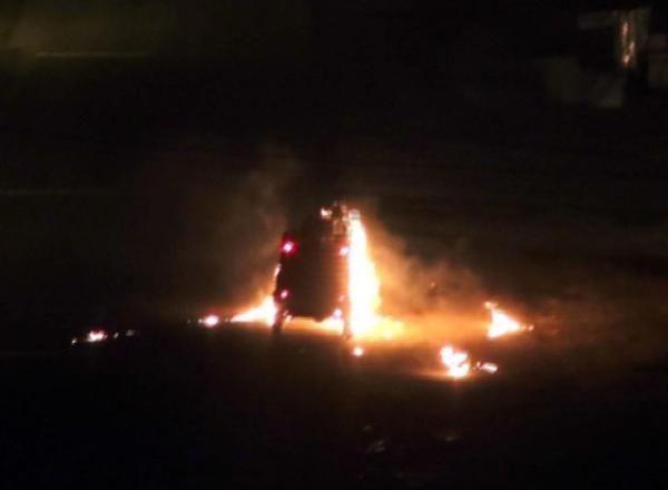Cizre'de olaylı gece