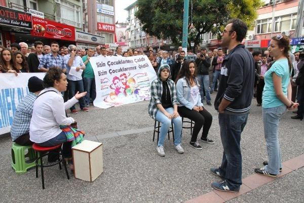 Gezi'yi tiyatroyla anlattılar