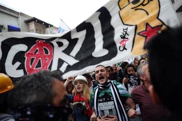 Yabancı ajansların gözünden Taksim